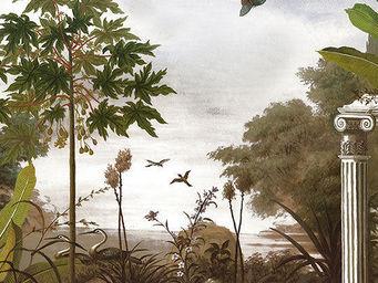 Ananb� - le jardin au papillon - Papier Peint Panoramique