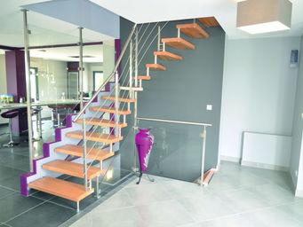 Cr�ateurs d'Escaliers Treppenmeister -  - Escalier Un Quart Tournant