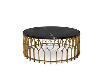 BRABBU - mecca coffee table - Table Basse Ronde