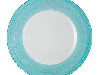 Greggio - turqouise lay plate art 19880178 - Dessous D'assiette