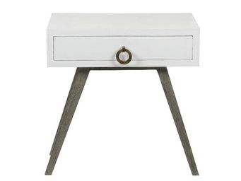 BLANC D'IVOIRE - jil gm blanc - Table De Chevet