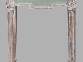 BLANC D'IVOIRE - venise pm turquoise - Table De Chevet