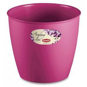 Stefanplast - lot de 3 cache-pots ou pots de fleurs ronds 3.3 l - Cache Pot
