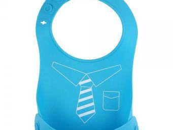 La Chaise Longue - bavoir silicone pliant cravate - Bavoir