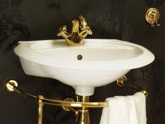 Cristal Et Bronze -  - Lavabo Sur Pi�tement