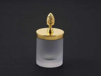 Cristal Et Bronze - cristal satiné - Pot À Coton