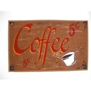 ILIAS - tapis de cuisine coffee 50 x 80 cm - Tapis D'évier