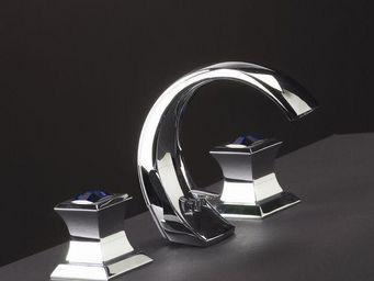 Cristal Et Bronze - pacific cristal - M�langeur Lavabo 3 Trous