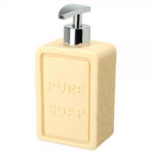 La Chaise Longue - distributeur de savon savonnette beige - Distributeur De Savon