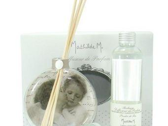 Mathilde M - diffuseur de parfum d'ambiance en verre soufflé t - Diffuseur De Parfum Par Capillarité