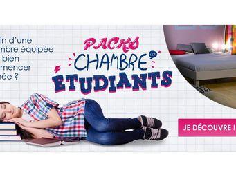 CDL Chambre-dressing-literie.com - promo rentrée - Sommier Fixe À Lattes