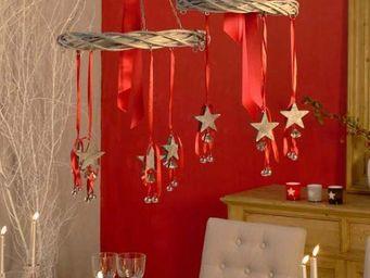 Interior's - suspension- 3 etoiles - D�coration De Table De No�l