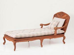 CHELINI -  - Chaise Longue De Jardin