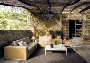Triconfort - hardy- - Canapé De Jardin