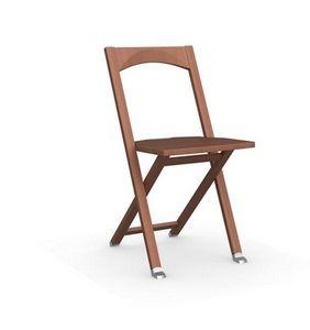 Calligaris - chaise pliante olivia merisier de calligaris - Chaise Pliante