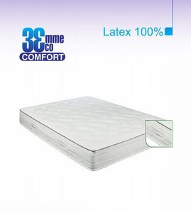 ECO CONFORT - matelas eco-confort 100% latex 7 zones 130 * 190 - Matelas En Latex