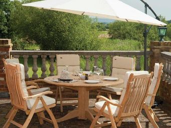 Alexander Rose - timber- - Table De Jardin Ronde