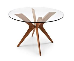 Calligaris - table ronde de repas tokyo 110x110 de calligaris e - Table De Repas Ronde