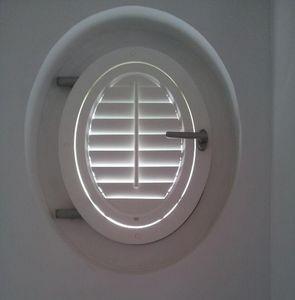 Jasno Shutters - shutters persiennes mobiles - Volet Oeil De Boeuf