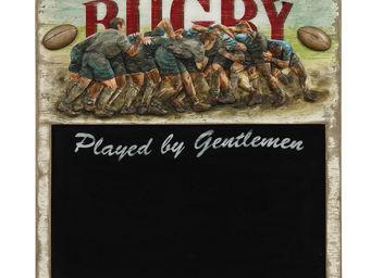 Interior's - menu rugby - Ardoise De Bistrot