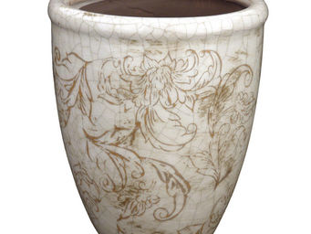 Interior's - pot d�coratif arabesque - Cache Pot