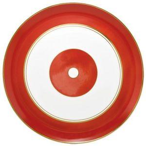 Raynaud - cristobal rouge - Plat Rond