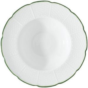 Raynaud - villandry filet vert - Assiette Creuse