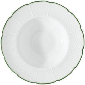 Raynaud - villandry filet vert - Assiette Creuse
