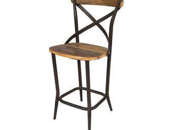 JP2B DECORATION -  - Chaise Haute De Bar