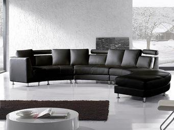BELIANI - sofa rotunde - Canapé Modulable