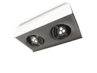 ARCITONE BY PHILIPS - plafonnier 2 spots led blanc 579853116 - Spot Encastr� Orientable