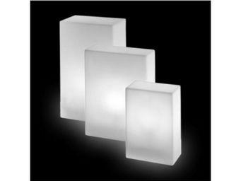 TossB - assise lumineuse base intérieure / extérieure - Objet Lumineux