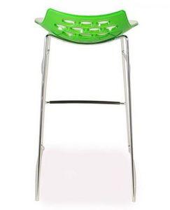 Calligaris - tabouret de bar design jam de calligaris piétement - Chaise Haute De Bar