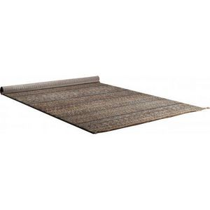 WHITE LABEL - tapis shisha marron de dutchbone ( 160 x 235 ) - Tapis Berbère