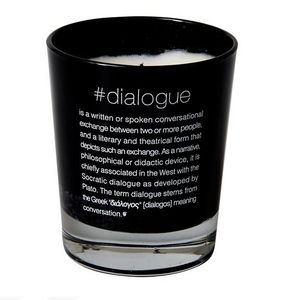SOPHIA - scented candle #dialogue - Bougie Parfum�e