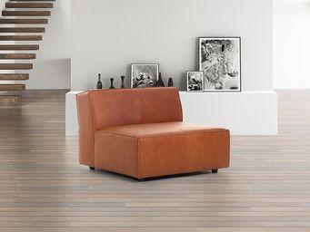 BELIANI - canapés en cuir - Canapé D'angle