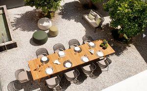 Tribù - contour - Table De Jardin
