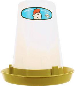 ZOLUX - abreuvoir en plastique 3l pour volaille 24x24x27cm - Mangeoire � Oiseaux