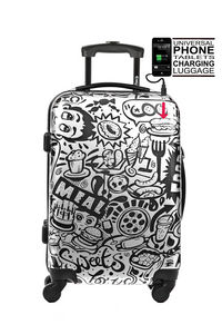 MICE WEEKEND AND TOKYOTO LUGGAGE - comic - Valise � Roulettes