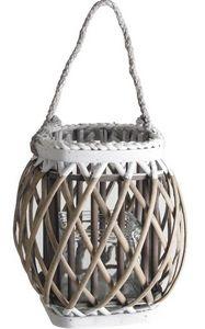 Aubry-Gaspard - lanterne bois et verre - Lanterne D'extérieur