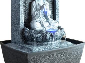 ZEN LIGHT - fontaine bouddha en méditation nirvana - Fontaine D'intérieur