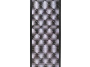 WHITE LABEL - classeur à rideaux noir - curtain n°6 - l 38 x l 3 - Armoire À Rideaux