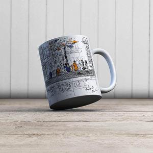 la Magie dans l'Image - mug canal saint martin - Mug