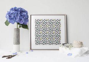 la Magie dans l'Image - print art champignons - Estampe