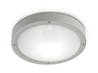 Leds C4 - plafonnier rond extérieur basic ip65 d26 cm - Plafonnier D'extérieur