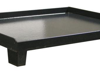 INVICTA - plaque plancha petit modèle en fonte - Plancha Gaz