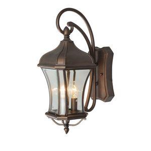 CHIARO - applique extérieure rétro lampe de jardin métal - Applique D'extérieur