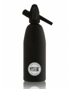 MYSELTZ - matt black - Siphon Soda