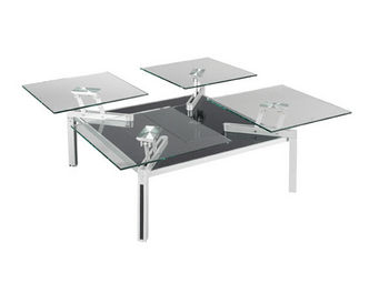 EDA  Concept - quatuor - Table Basse Carrée