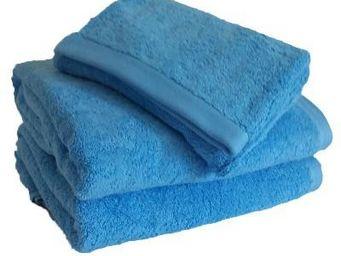 Liou - drap de bain bleu cyclades - Drap De Bain